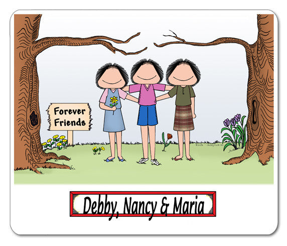 Friends / Sisters Mouse Pad