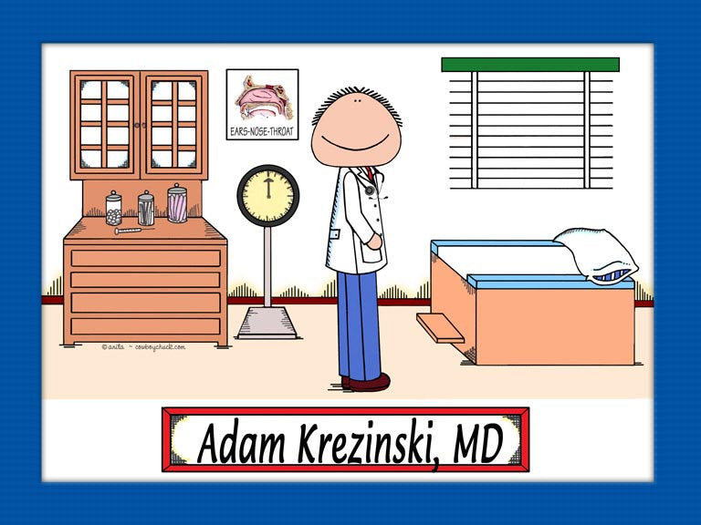 Doctor ENT Cartoon Picture