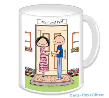 New Home Couple Mug - Personalized