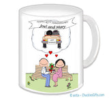 Anniversary - Memories Couple Mug - Personalized
