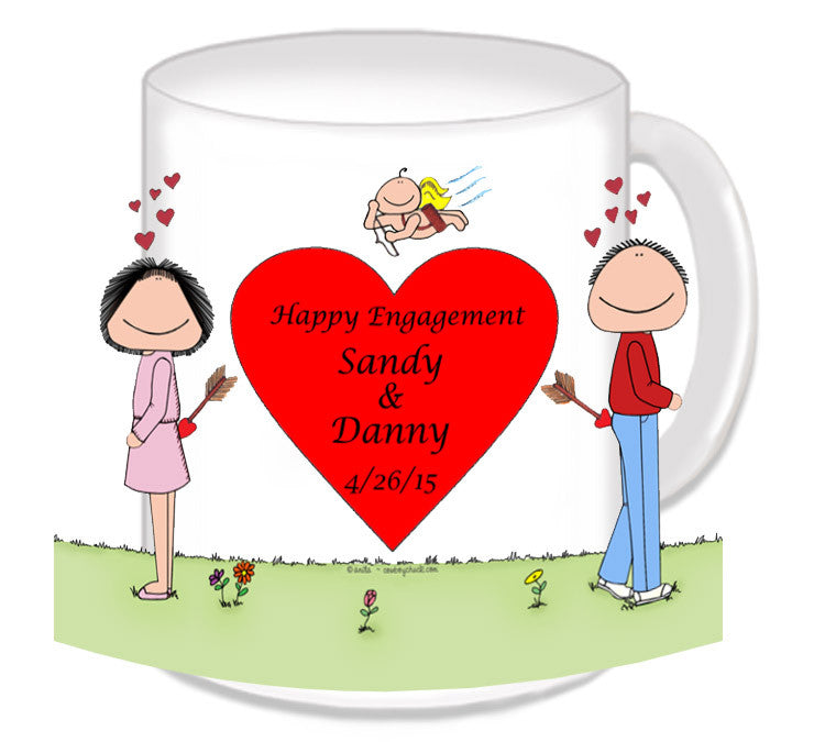 Lovers Mug Couple Personalized