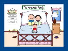Home Sweet Home Family Cartoon Picture