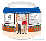 Business Owner Couple Mug Male/Male