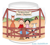 Rancher Couple Mug - Horse & Cow -Personalized