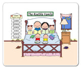 Home Sweet Home Family Mouse Pad 4 Kids
