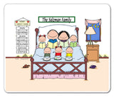 Home Sweet Home Family Mouse Pad 5 Kids