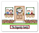 New Home Family Mouse Pad 2 Kids Personalized
