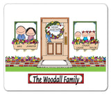 New Home Family Mouse Pad 3 Kids Personalized