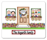New Home Family Mouse Pad 6 Kids Personalized
