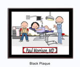 8688 Obstetrician Plaque Male - Personalized