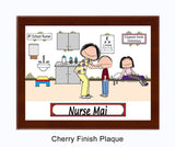 School Nurse Plaque - Personalized