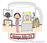Hospital Nurse Female Personalized