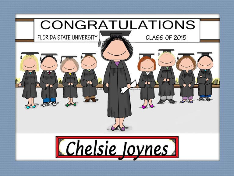 Graduating Class Cartoon Picture