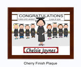 Graduating Class Plaque Female - Personalized