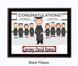 Graduating Class Plaque Male - Personalized