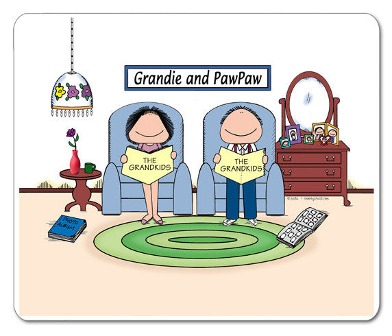 Grandparents Baby Boomer Mouse Pad