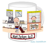 Audiologist Mug Male - Personalized