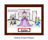 Princess Plaque Female - Personalized
