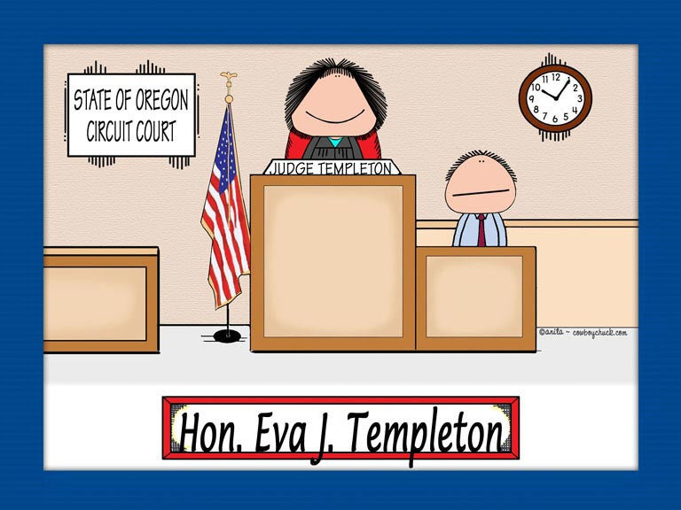 Judge Cartoon Picture