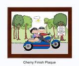 Motorcycle w/side car 1 Kid - Personalized