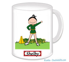 Cheer Girl Mug Personalized