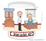 Doctor with Patient Mug Male with Male Patient - Personalized 8836