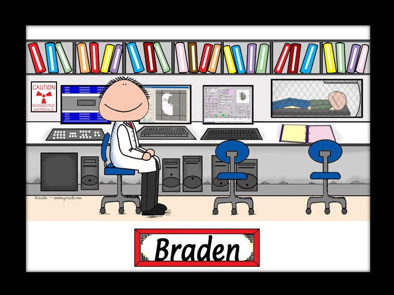 Radiation Therapist Cartoon Picture