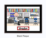 Radiation Therapist Plaque Male - Personalized