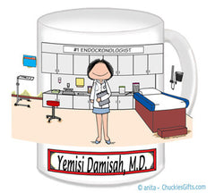 Doctor's Office Mug Female - Personalized