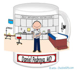 Doctor's Office Mug Male - Personalized