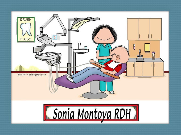 Dental Hygienist Cartoon Picture