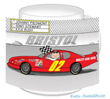 Stock Car Mug Male - Personalized