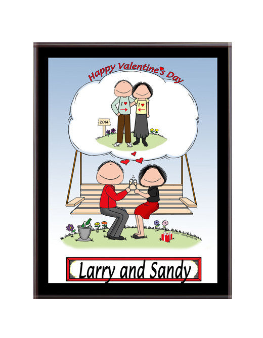 Happy Valentine Plaque