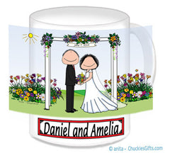 Wedding Under Arbor Mug - Personalized
