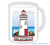 Lighthouse Couple Mug