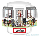 Dog Rescue Mug Male - Personalized