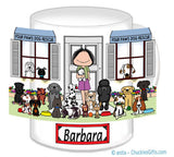 Dog Rescue Mug Female - Personalized