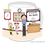 Teacher Mug Female - Personalized