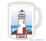 9111 Lighthouse Mug Female - Personalized