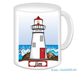 9112 Lighthouse Mug Male - Personalized