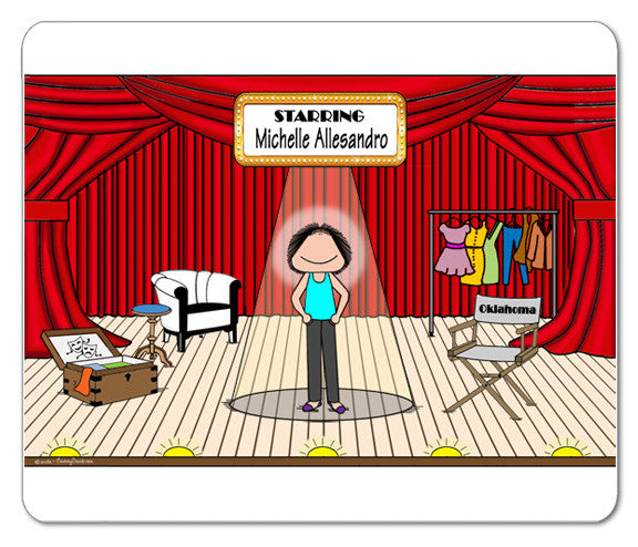 Theatre Stage Mouse Pad