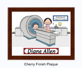 CT Scan Tech Plaque Female - Personalized 9175