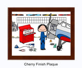 Airplane Mechanic Plaque Personalized Female 9185