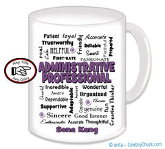 Administrative Professional Mug - Personalized