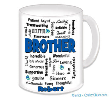 Brother Expressions Mug - Personalized