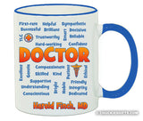 Doctor Mug Expressions Personalized Gifts