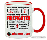 Firefighter Mug Expressions Personalized Gifts