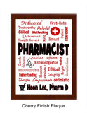 Pharmacist Plaque Expressions