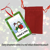 Ornament comes in a Velour Pouch