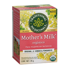 TÉ ORGÁNICO MOTHER'S MILK PARA MUJERES EN LACTANCIA